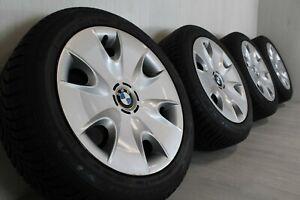"""16"""" BMW 1 series E81 E82 E87 E88 winter wheels with Goodyear RFT tyres (2)"""