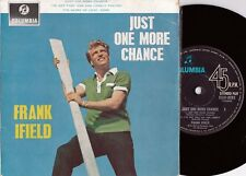 Frank Ifield ORIG OZ EP Just one more chance VG+ '63 Columbia SEGO8262 Vocal Pop