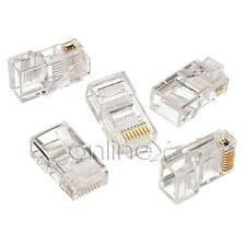 7x Clavijas Conectores Ethernet RJ45 de Red, Alta Calidad 7xa1632
