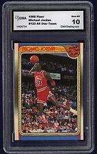 1988  Michael Jordan  Fleer # 120 Gem  MT 10