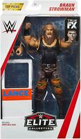 MATTEL WWE TOP PICKS ELITE COLLECTION ACTION FIGURES -BRAUN STROWMAN - NEW BOXED