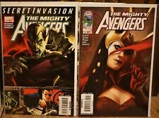 Mighty Avengers #18 & 29 (2008/09 Marvel) Lot of 2 MARKO DJURDJEVIC Covers VF/NM