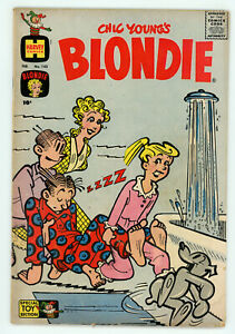 JERRY WEIST ESTATE: CHIC YOUNG'S BLONDIE #143 & 149 (Harvey 1961) VG NR