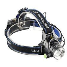 LED Stirnlampe Kopflampe CREE XML T6 1800Lm Zoombar mit Akku und Autoladeadapter