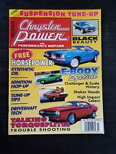 Chrysler Power & Mopars July 1997 Dodge Challanger - Plymouth Cuda History
