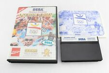 Sega Master System Game Olympic Gold Boxed Complete PAL