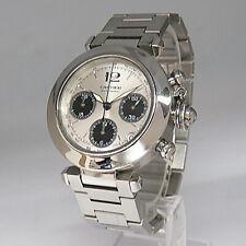 Cartier Pasha C Chronograph Chronometer Automatik Uhr  Ref. 2412 in Stahl