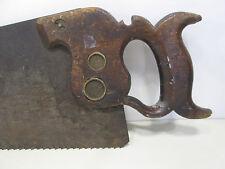 Antique J. Flint Rochester Blade w/Disston Handle & Medallion  #S85