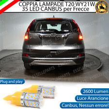 COPPIA LAMPADE WY21W CANBUS 35 LED FRECCE POSTERIORI HONDA CR-V MK4 NO ERROR