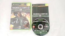 Soldier of Fortune II (Xbox), complete good condition