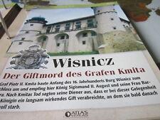 Burgen und Schlösser Polen Wisnicz Giftmord des Grafen Kmita