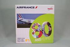 ZE183 HERPA 1/200 AVION AIRBUS A320 AIR FRANCE 80 years ANNIVERSAIRE Reg. F-HEPG