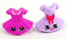 NEW Shopkins McDonalds 2015 Suzie School Skirt & Tutusweet Pink/Purple SET OF 2