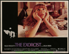 THE EXORCIST LOBBY CARD size MOVIE POSTER 1974 Set of 7