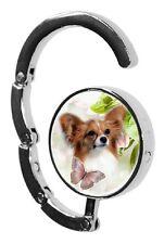 Papillon Dog Table Bag Handbag Purse Hanger Hook-1 paws2print