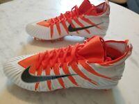 Nike Alpha Menace Elite Football Cleats Mens Orange White Size 14 AJ6547-801