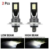 2x H7 LED Headlight Conversion 110W 30000LM 6000K Error Free Canbus Bulb newly