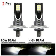 2x H7 LED Headlight Conversion 110W 30000LM 6000K Error Free Canbus Bulb RY