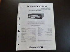 Original Service Manual Pioneer KE-5000SDK