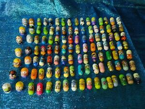 Mighty Beanz Lot Of Over 100 Beans
