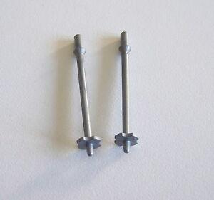 PLAYMOBIL (N3133) SPORT HIVER - Paire de Batons de Ski Gris pour Adultes