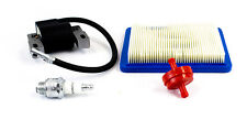 Ignition Module Coil Fuel & Air Filter Plug Fits Briggs 122T02 122T07 128T02