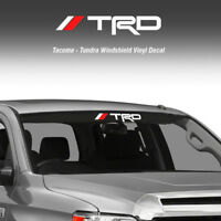 Toyota TRD Off Road Windshield Tacoma Tundra Vinyl Decal Truck Sticker Graphic L