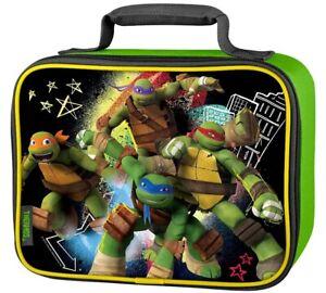 Teenage Mutant Ninja Turtles TMNT Nickelodeon Thermos Insulated Lunch Kit, New