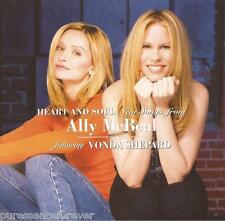 VONDA SHEPARD - Heart And Soul: New Songs From Ally McBeal (UK 14 Tk CD Album)