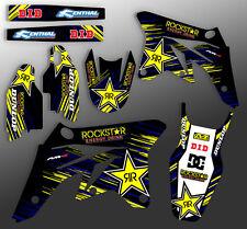 2000-2012 SUZUKI DRZ 400 TEAM ROCKSTAR MOTOCROSS GRAPHICS DIRT BIKE MX DECALS