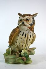 Vintage Porcelain Owl Figurine Made in Japan