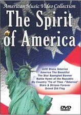 The Spirit of America - Patriotic DVD Video (God Bless America Star Spangled B..