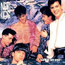 Step by Step by New Kids on the Block (CD, Mar-2008, Columbia (USA))