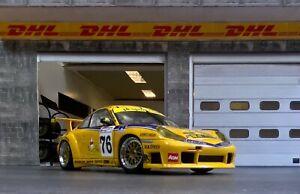 "Porsche 911 (996) GT3R 24h du Mans 2001 ""Team PK Sport"" UK UNIQUE in 1:18 UMBAU"