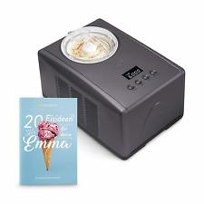 Springlane Eismaschine Emma Kompressor 1,5 l Edelstahl Joghurt Eiscreme Frozen T