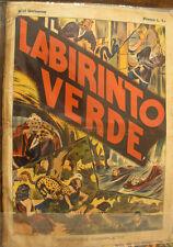 Fumetto d'epoca da collezione ALBI UNIVERSO - Labirinto verde - 1939
