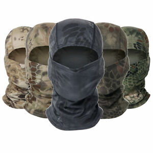 Camouflage Balaclava Full Face Mask Paintball Airsoft CS Tactical Headgear