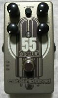 Used Catalinbread Formula 55 Foundation Overdrive Guitar Effects Pedal