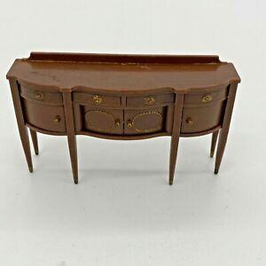 Marx Little Hostess Buffet Vintage Dollhouse Furniture Renwal Plastic 1:16