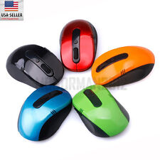 Portable Fashion 2.4 GHz Wireless Gaming Optical Mouse for PC Laptop Computer