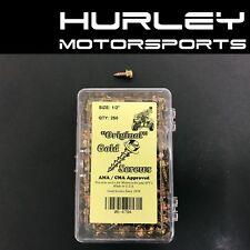 "The ""Original"" Gold Ice Twist Tire Screws AMA/CMA Race - 1/2"" x 250 - 054794"