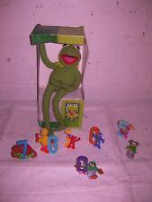 Kermitplüsch Muppetshow  Sesamstrasse 8tgl. Set Vinyl Krümelmonster Groofy Tiffy