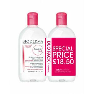 Bioderma Sensibio H20 Make-up Removing Micelle Solution 500ml Duo - BB: 03/21!!