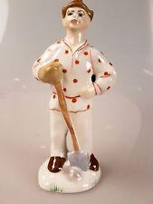 Russische Porzellanfigur Junge Pionier Porzellan UdSSR СССР