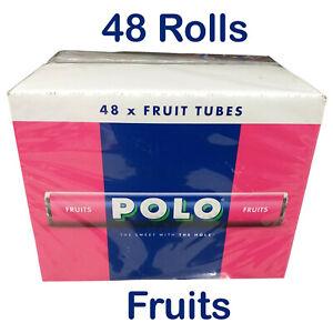 Nestle Polo FRUITS  Box of 48 Rolls / Tubes