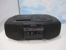 Sony Boombox CD Am Fm cassette CFD-V10 Tape Deck Does Not Work Read Desc