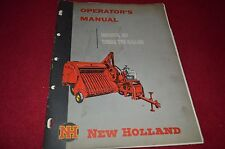 New Holland 87 Wire Tie Baler Operator's Manual RWPA