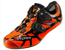 Scarpe bici corsa Vittoria Ikon carbon road bike shoes 40,42,43 arancio orange