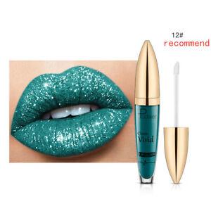 Charming Pudaier Metallic Liquid Lipstick Lip Gloss 18 Colors for Girl Gift