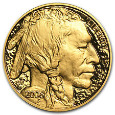 2006-W 1 oz Proof Gold Buffalo Coin - with Box and Certificate - SKU #15298